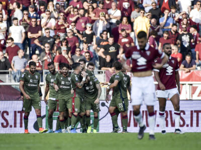 VIDEO Torino-Cagliari 1-1, highlights, gol e sintesi della partita: botta e risposta tra Nandez e Zaza