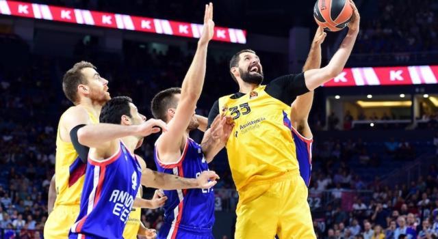 Basket, Eurolega 2019-2020: vittorie facili per Barça e Olympiacos. Khimki ed Efes battono a fatica Vitoria e Berlino