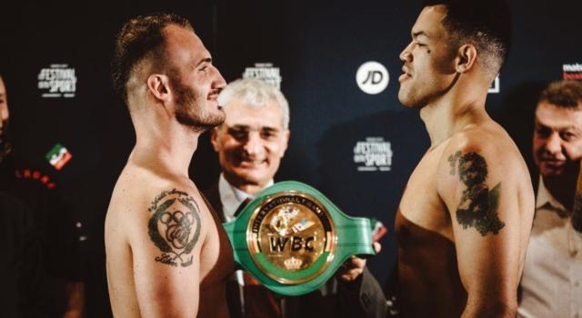 Boxe: domani la Trento Boxing Night, Fabio Turchi sfida Tommy McCarthy per il titolo Internazionale WBC dei pesi massimi leggeri