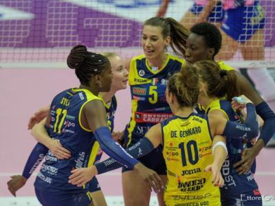 Novara-Conegliano, A1 volley femminile oggi: orario d'inizio e come vederla in tv e streaming