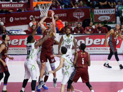 Basket, EuroCup 2019-2020: Venezia soffre, ma batte 93-85 il Limoges