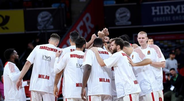 Olimpia Milano-Zalgiris Kaunas, Eurolega 2019: programma, orari e tv