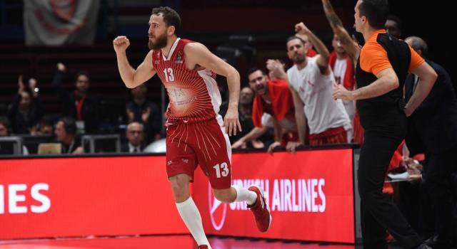 Basket, Eurolega 2019-2020: prima vittoria per l'Olimpia Milano. Al Forum battuto lo Zalgiris 85-81