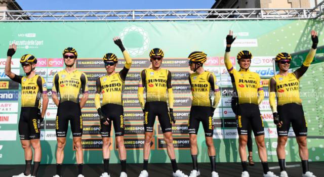 Bretagne Classic 2020: multa di 50 mila euro a Jumbo-Visma e Team INEOS per l'assenza al via