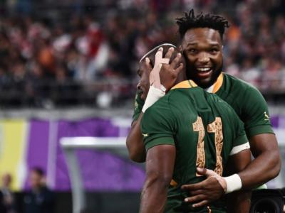 Rugby, Pieter-Steph du Toit premiato come miglior giocatore dell'anno. Sudafrica miglior squadra