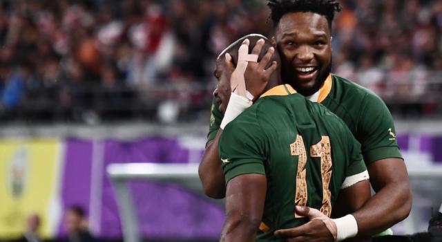 Rugby, Mondiali 2019: Galles-Sudafrica 16-19, un calcio di Pollard manda gli Springboks in finale