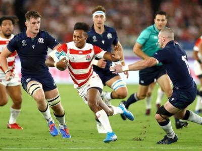 Rugby, Mondiali 2019: Giappone-Scozia 28-21, Fukuoka regala i quarti di finale ai samurai