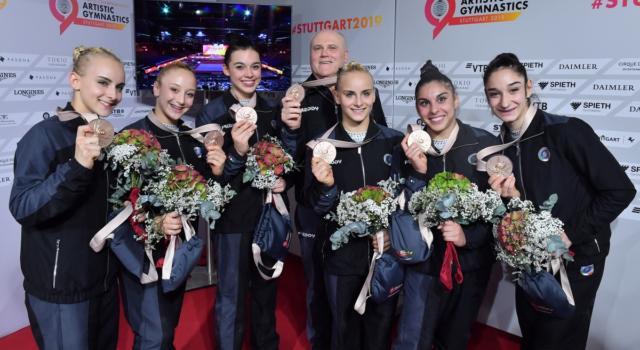 Ginnastica, Mondiali 2019: un'Italia da record con 2 medaglie e un nuovo primato. Solo con Vanessa Ferrari e Cassina-Morandi si fece meglio