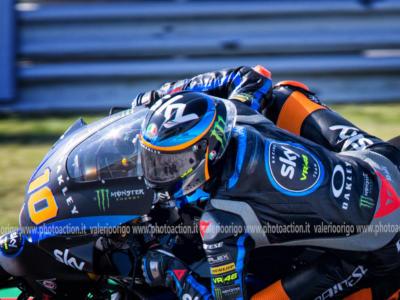 """Moto2, Luca Marini: """"Ho dato tutto quello che avevo, ringrazio il team per il lavoro di quest'anno e la Ducati per l'opportunità in MotoGP"""""""