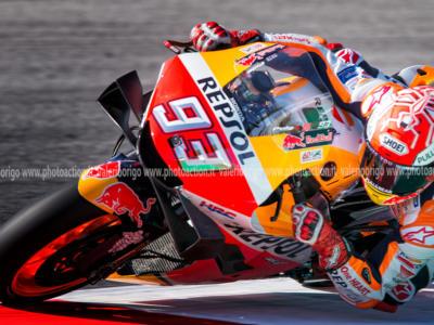 """Moto GP, Marc Marquez in ospedale: """"La cosa più importante in questa gara è arrivare al traguardo. Ce la faremo"""""""