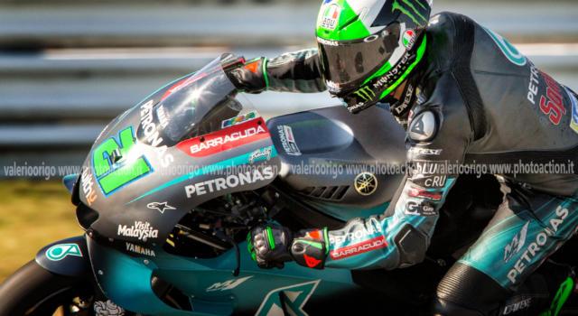 """Franco Morbidelli, Test MotoGP: """"Due giorni positivi, siamo veloci. Motore nuovo a Jerez? Non so. Sul forcellone…"""""""