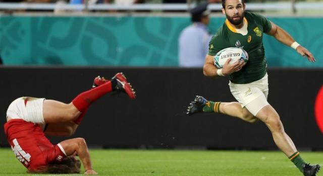 Rugby, Mondiali 2019: Sudafrica-Canada 66-7, sfida senza storia a Kobe