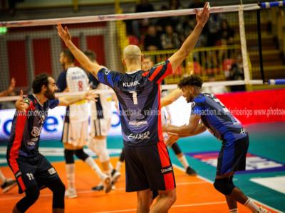 Volley, SuperLega 2019-2020: 11^ giornata. Monza batte Sora nell'anticipo, Kurek e compagni al settimo posto