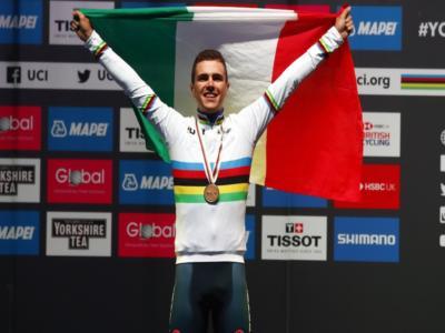"""Ciclismo, Samuele Battistella: """"Sono nato lo stesso giorno di Nibali e mi ispiro a lui. Il Mondiale U23 mi ha cambiato"""""""