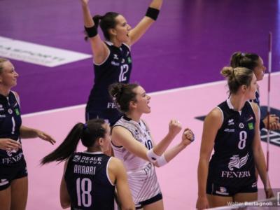 Volley femminile, Serie A1 2019-2020: quarta giornata. Chieri batte Cuneo nell'anticipo, Grobelna sugli scudi