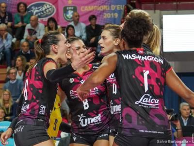 Volley femminile, Busto Arsizio passeggia sul Resovia in CEV Cup e ipoteca i quarti di finale
