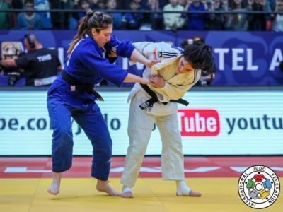 Judo, Europei 2020: Maria Centracchio ed Edwige Gwend subito eliminate nei -63 kg