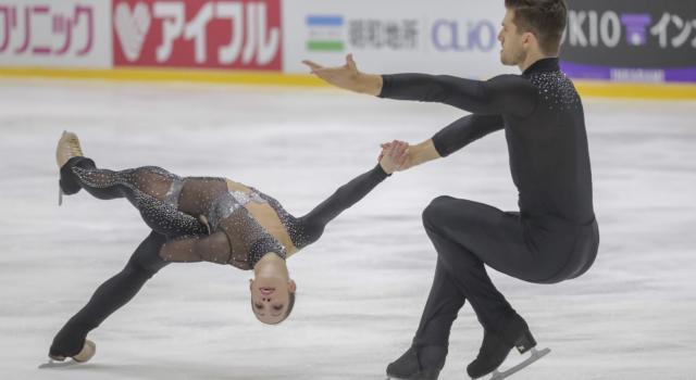 Pattinaggio di figura, NHK Trophy 2019: Sui-Han dilagano nello short delle coppie, ottavi Della Monica-Guarise