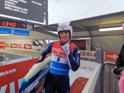 Slittino: Dominik Fischnaller, ennesimo podio nella sprint di Sigulda e rimonta in classifica su Repilov