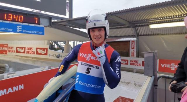 """Slittino, Dominik Fischnaller: """"Siamo tornati sul tetto d'Europa dopo sei anni, Lillehammer mi esalta"""""""