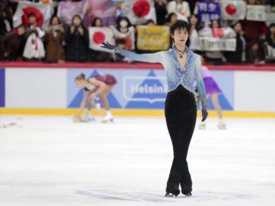 Pattinaggio artistico, NHK Trophy 2019: Yuzuru Hanyu dilaga nel singolo maschile, bel secondo posto per Kevin Aymoz