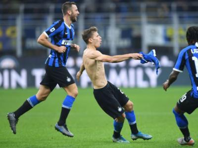 Inter-Hellas Verona 2-1, Serie A calcio 2019-2020: una magia di Barella a 7 dalla fine regala i 3 punti a Conte, beffato un Verona molto ostico