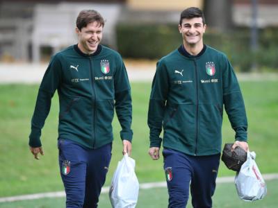 Calcio, parlano i debuttanti dell'Italia: Cistana, Orsolini e Castrovilli all'esordio in Nazionale con tanto di canzone
