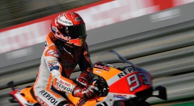 """Marc Marquez, Test MotoGP: """"Giro veloce con la moto del 2020, passo ottimo. Mio fratello? Abbastanza bene"""""""