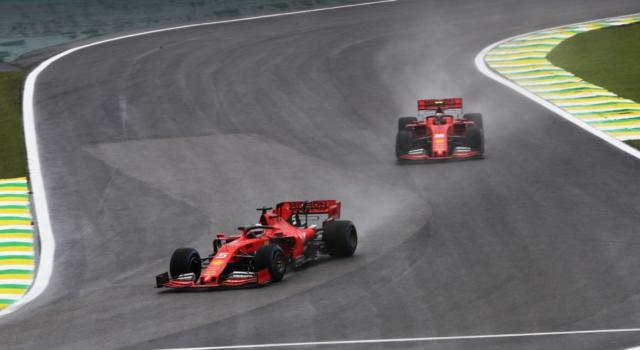 F1, Risultato FP2 GP Brasile 2019: Ferrari incontenibile, Vettel al comando davanti a Leclerc!
