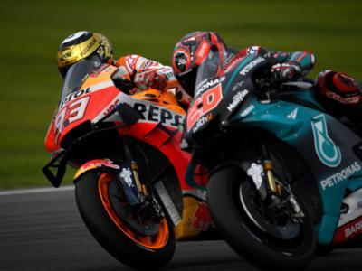 LIVE Test MotoGP Valencia 2019 in DIRETTA: tre Yamaha in vetta poi Dovizioso e Marquez, Rossi rincorre