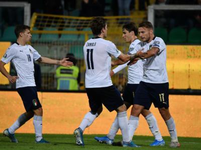 Calcio, Qualificazioni Europei 2020: spettacolo azzurro a Palermo, Armenia battuta 9-1 da un'Italia da record