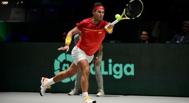 LIVE Spagna-Canada 2-0, Finale Coppa Davis 2019 in DIRETTA: Rafael Nadal eroico! Batte Denis Shapovalov e porta a casa il 6° trionfo iberico!