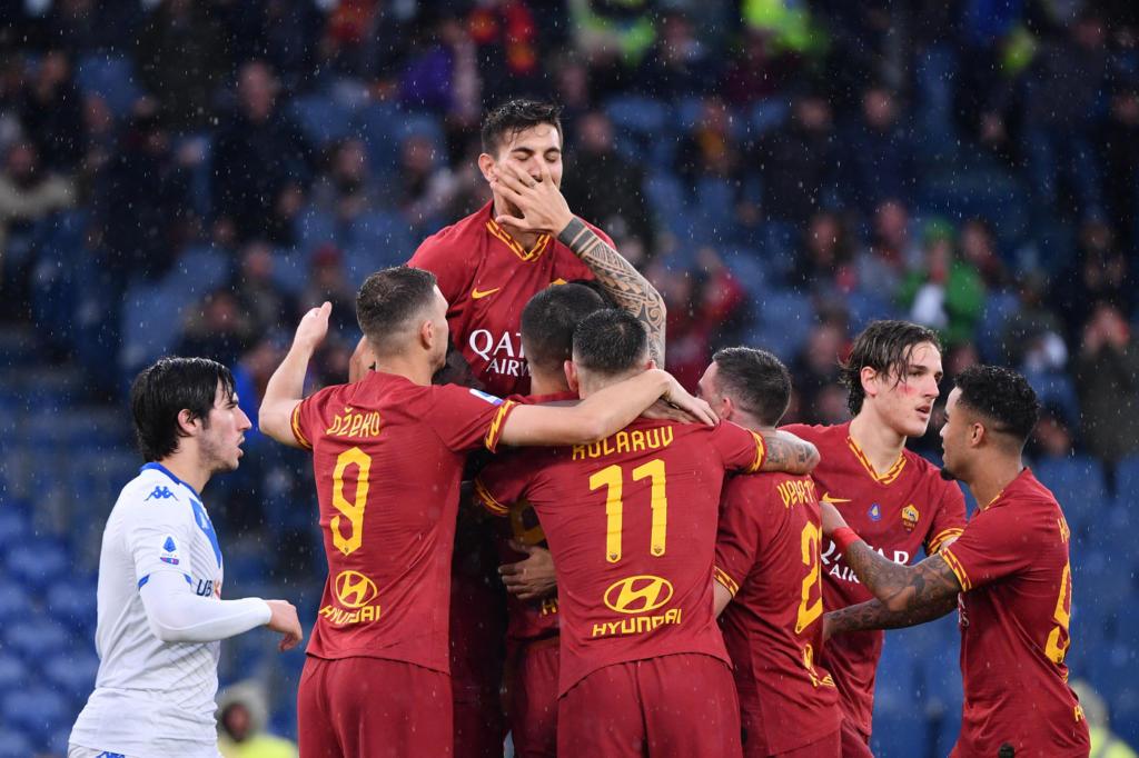 Serie A Calcio Risultati Di Oggi 24 Novembre E Classifica Roma Brescia 3 0 Sassuolo Lazio 1 2 Lotta Capitolina Per La Champions Oa Sport