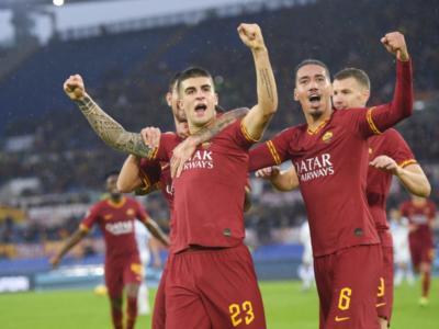 VIDEO Roma-Brescia 3-0: highlights, gol e sintesi. Smalling straripante, segnano Mancini e Dzeko