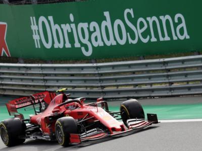 """LIVE F1, GP Brasile 2019 in DIRETTA: Leclerc e Vettel si buttano fuori. Binotto: """"Fanno del male alla Ferrari"""""""
