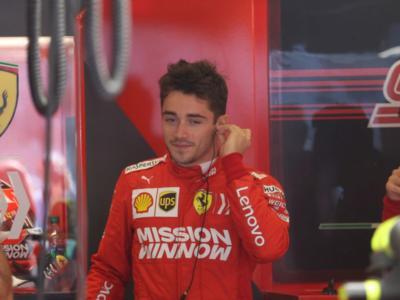 """F1, Charles Leclerc: """"Ho imparato tanto da Vettel. Sono in Ferrari, lo sognavo da bambino"""""""