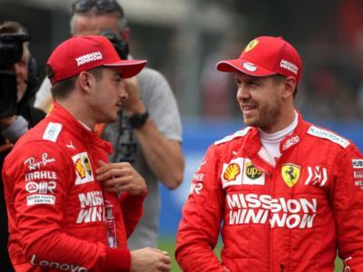 F1, Mondiale 2020: niente n.1 e n.2 in Ferrari? Vettel sembra già in una posizione subalterna