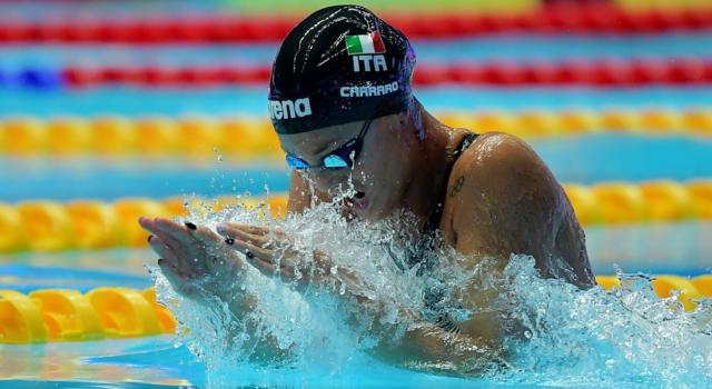 Nuoto, Europei vasca corta Glasgow 2019: Martina Carraro e Arianna Castiglioni stellari nei 100 rana, argento beffardo per Pellegrini