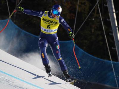 Sci alpino, Prova Discesa Bormio 2019: Dominik Paris secondo davanti a Mattia Casse, in testa Roger