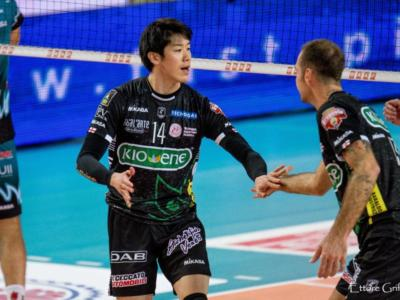 Volley, SuperLega 2019-2020: Padova supera Latina 3-1. Yuki Ishikawa autentico trascinatore