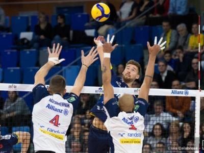 Volley, SuperLega 2019-2020: ottava giornata. Civitanova sempre in testa, Modena batte Trento nel big match, ok Perugia