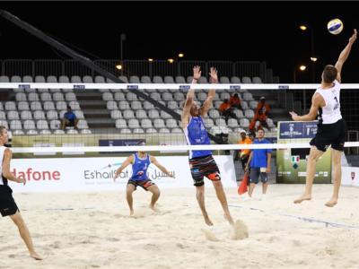 Beach volley, World Tour 2019 Doha. Una vittoria e una sconfitta per Bonifazi/Krumins: domani ottavi con i giapponesi