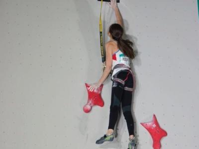 Arrampicata sportiva: Laura Rogora settima nella qualificazione del Boulder