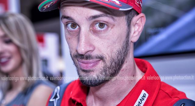 """MotoGP, Andrea Dovizioso: """"Ho sgrossato la moto. Bene il telaio, bisogna lavorare sulle gomme"""""""
