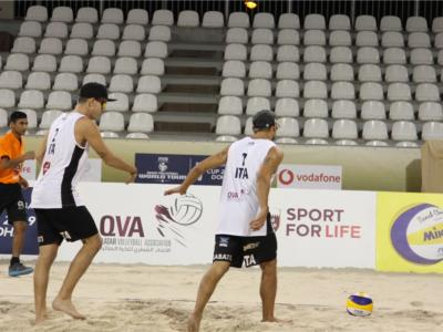 Beach volley, World Tour 2019 Doha: Bonifazi/Krumins in campo nel penultimo torneo dell'anno. Eliminati Labate/Panerati