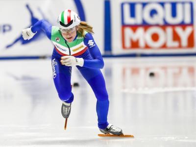Short track, azzurre di bronzo nella staffetta agli Europei. Successo alla Francia