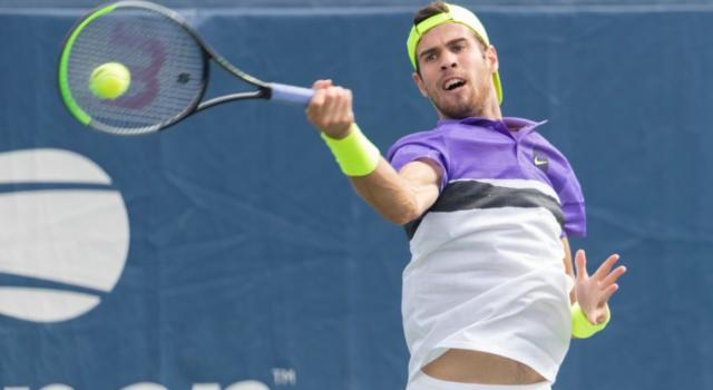 Tennis, ATP Anversa 2020: volano ai quarti Raonic, Khachanov e Giron. Eliminato Goffin