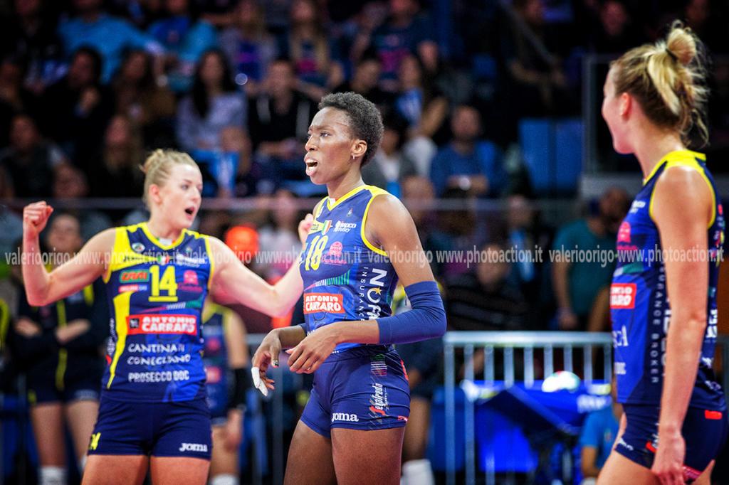 Volley femminile, Champions League 2019-2020: incomincia l'avventura di Conegliano, esordio morbido contro Budapest - OA Sport