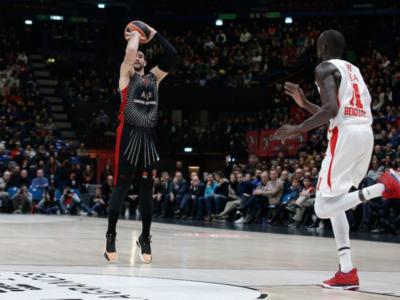 Basket: Olimpia Milano in emergenza, si fermano per infortunio Riccardo Moraschini e Jeff Brooks