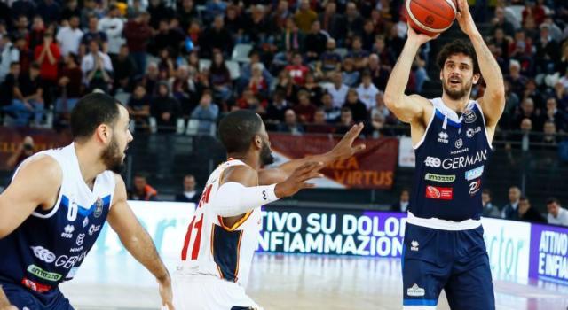 Basket, Serie A 2019-2020: Virtus Roma-Brescia 53-83. La Leonessa divora i capitolini
